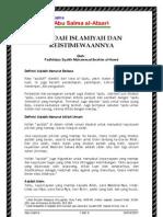 Aqidah Islamiyah Dan Keistimewaannya
