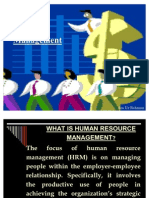 1.Human Resource Management 2