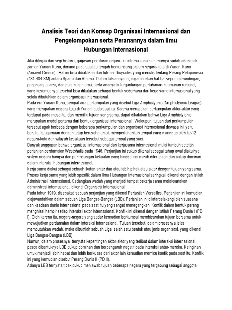 Unique Resume Organisasi Internasional Ideas Entry Level Resume