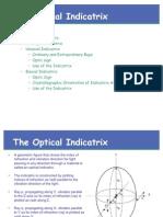 Lecture 07 G278 2007 Optical Indicatrix