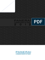 Panerai Catalogue 2012