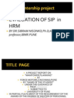 Evaluation of Sip in Hrm - Copy