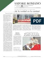 L´OSSERVATORE ROMANO. 26 Febrero 2012