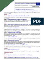 ECTAD SA Weekly Animal Disease E-Information No. 2 2012