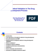 Method Validation in the Drug development Process-김현성