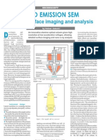 Fe-sem for True Surface Imaging and Analysis