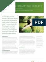 Are Green Brands the Future Case Study 2009[1]
