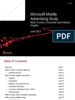 2011 Microsoft Multi Country MoAd Insights Study