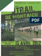 Trail de Montaigu 15 Avril 2012