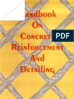 Handbook on Reinforcement and Detailing (SP 34 1987) Indian Code