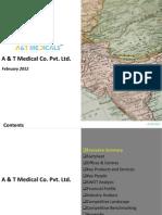 A & T Medical Co Pvt. Ltd - Company Profile