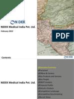 NiDEK Medical India Pvt Ltd. - Company Profile