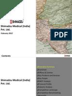 Shimadzu Medical (India) Pvt Ltd. - Company Profile