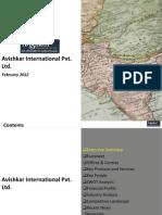 Avishkar International Pvt Ltd. - Company Profile