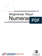Improve Your Numeracy November 2010