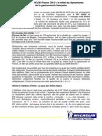 Guide Michelin 2012