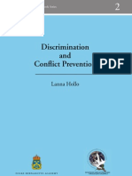 Vol. 2 - Discrimination and Conflict Prevention