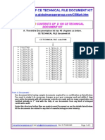 Demo of CE Technical File Document Kit
