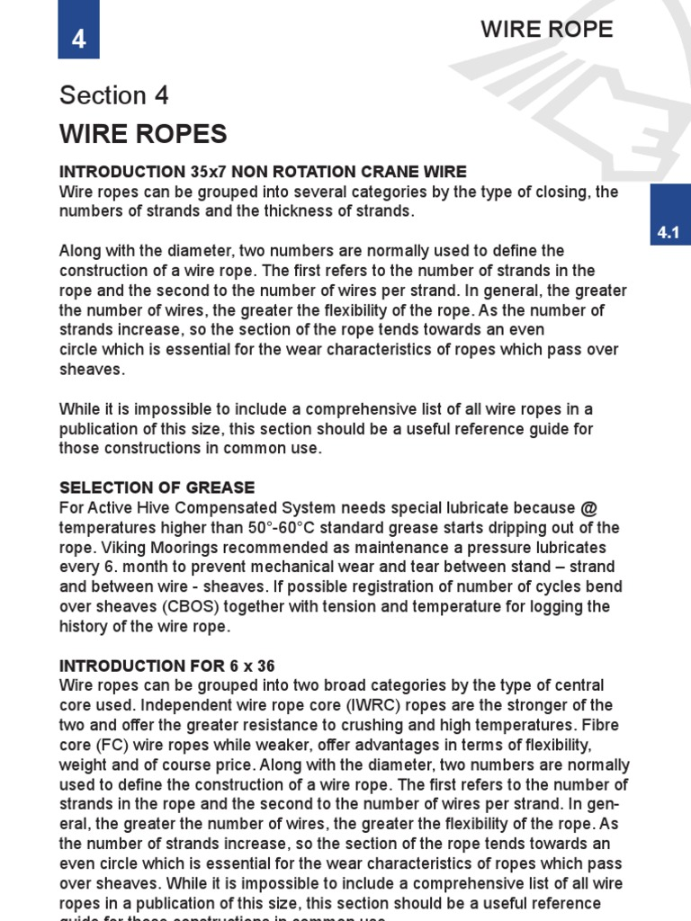 Outstanding Bridon Wire Rope Inspection Composition - Wiring Diagram ...