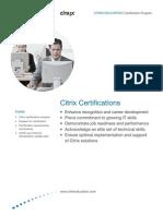 Citrix Certification Program