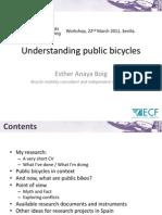 Understanding Public Bicycles-E.anaya
