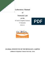 Lab Manual(Network Lab)