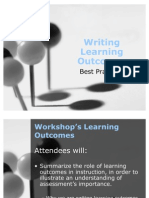 Learning Outcomes Workshop QEP Web