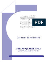 String Quartet n.2 - Parts
