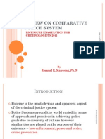 Comparative Police System Review