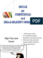 Competencias Area Religion