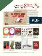 Filiber 08 - le magazine de la librairie Filigranes - Spécial Foire du livre 2012