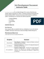 thematic unit development document final