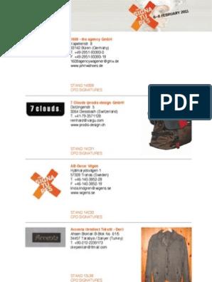 Martinelli Group Confezioni Srl.Cpd Signatures E Catalogue