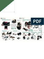 Depliant monta moto