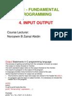 Bab 4 - Input Output