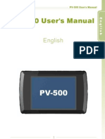 PV 500 600 Users Guide