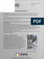 Roverway 2012 - Lettre d'Information 7