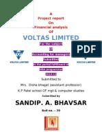 Sandip Voltas Report