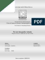 Per Un'Etnografia Virtuale. Tesi Di Laurea Di Giuseppe Parisi