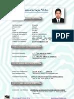 Curriculum Cesar Nuevo 2012