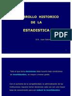 Historia Estadistica