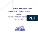 Report to the Commissioners December 2002