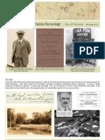The Dr. Alister MacKenzie Chronology