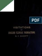209. Visitations of Cluniac Foundations