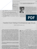 Transition Count Testing of Com Bi National Logic Circuits-IEEE