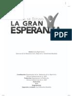 Guía de Estudios del Libro La Gran Esperanza
