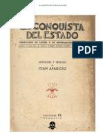 La Conquista del Estado. Antología. Juan Aparicio
