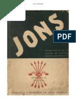 JONS. Antología de textos. Juan Aparicio