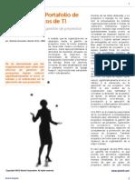 Alcenit Insights - PMO - Gestión del Portafolio de Proyectos de TI