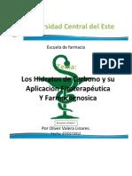 Los Hidratos de Carbono y sus Propiedades Fitoterapeuticas y Farmacognosicas